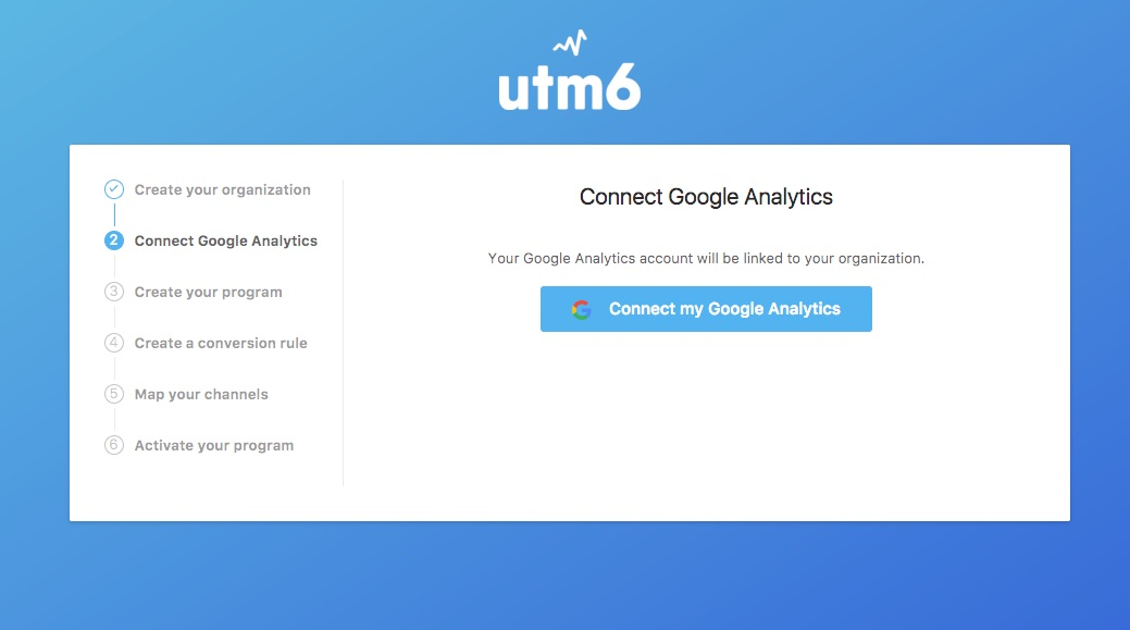 Google Analytics connect