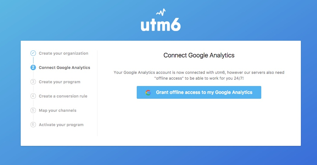 Google Analytics offline access